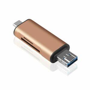 5 in 1 OTG-Kartenleser Typ C mit USB-Buchse für PC USB2.0-Adapter