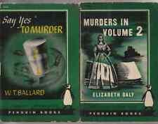 E872 Lot Of 2  Penguin Vintage Mystery Paperback Books