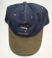 Blue Fishing Hat Mens Collectors Novelty BaseBall Cap Truckers Sports ActiveHome