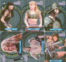 Xena Series One Topps Foil Mirrorboard Chase Card Set X1 - X6