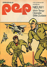 PEP 1971  nr. 22 - NEIL YOUNG / MICK TANGY (COVER) / COMICS