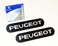 Genuine Peugeot 106 Mud Flap Badges (x2) XS XSi RALLYE GTi QUIKSILVER S16