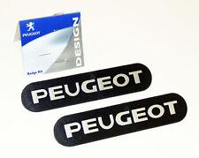 Peugeot 106 Parafanghi Stemmi x2 XS XSi RALLYE GTi QUIKSILVER S16 Ricambio