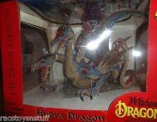 "MCFARLANE HYDRA 3 HEADED DRAGO15"" LENGTH BOXED SET FROM FALL OF THE DRAGONS"