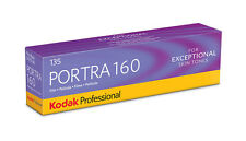 KODAK Portra 160new 135/36 5 Films Mhd / Expiry Up-To-Date 10/2017 Expires Soon