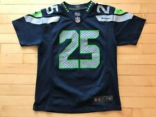 Seattle Seahawks Richard Sherman Jersey Size Youth boys M Blue