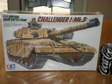 CHALLENGER 1 (Mk.3) - BRITISH MAIN BATTLE TANK, PLASTIC TAMIYA MODEL, SCALE 1/35