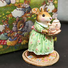 Wee Forest Folk M-594c A Cosy Tea - Spring RARE Limited Edition #191 NEW w/ COA