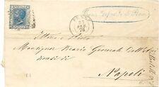 P8894   Chieti, Penne, annullo numerale a punti, 1876