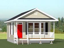 18x30 Tiny House -- 540 sq ft -- PDF Floor Plan - Model 4B