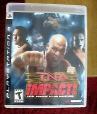 TNA Impact ps3 game