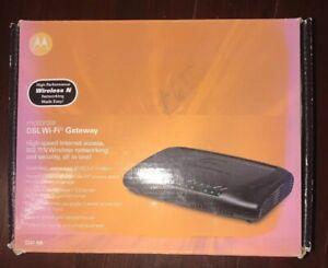 Motorola 2247-N8 10/100 Wireless N Router 4 Port ASDL2 NEW DSL WIFI Gateway