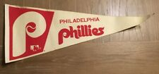 Vintage Philadelphia Phillies MLB Baseball Full Size Pennant Collectible (P2