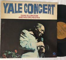 DUKE ELLINGTON + ORCHESTRA Yale Concert LP EX vinyl Fantasy (1973)