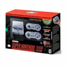 NEW Super Nintendo Classic Edition SNES System Super NES Video Game Console