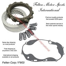 Yamaha RZ350 Clutch Kit Set Discs Disks Plates Springs Gasket RZ 350 Pack 84-90