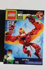 Lego Ben 10 Alien Force JET RAY New 8518 Sold Out! MISB