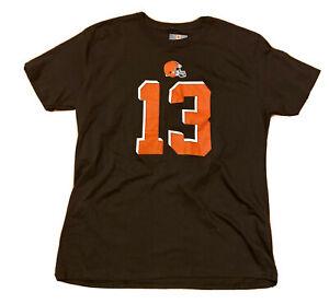Cleveland Browns Odell Beckham Jr.  #13 T-Shirt Men's XL, Fanatics NFL