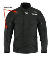 Men's Motorbike Jacket Cordura Waterproof CE Armours Motorcycle Textile Jackets