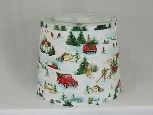 """Albert Estate LTD, Albert Estate Christmas Farm Shade, 12"""" Washer Fitter"""