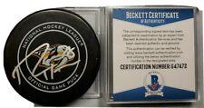 RYAN HARTMAN SIGNED NHL OFFICIAL GAME PUCK NASHVILLE PREDATORS BECKETT COA