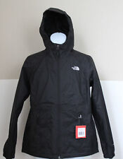 NWT The North Face Women's Boreal Hooded Rain Jacket DryVent Black Sz L