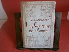 """Vernet M. """" Les chansons de l'annèe""""- Avenir social, 1921"""