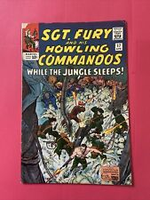 Sgt Fury And His Howling Commandos. #17.    VG+. (4.5).  Apr. 1965