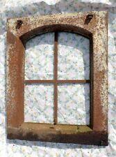 altes Eisen Fenster Eisenfenster Stallfenster Gusseisen Luke Dachfenster Rahmen