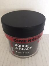 Style Sexy Hair Rough & Ready Dimension with Hold 4.4 oz unisex for shaping