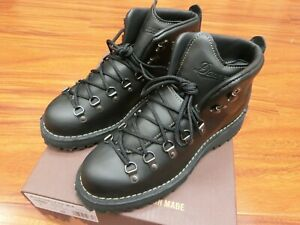 """Danner Mountain Light II Boots 5"""" Black #30860 Made in USA"""