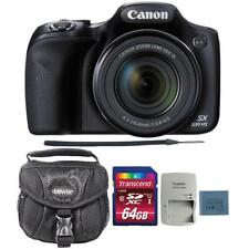 Canon PowerShot SX530 HS Digital Camera with 64GB Memory Card and Camera Case