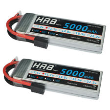 2pcs HRB 11.1V 5000mAh 3S Lipo Battery 50C 100C for Traxxas Car Truck Airplane