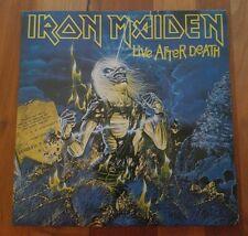 "NM(!) IRON MAIDEN - Live After Dearh 2x12"" Vinyl inkl.OIS Greece 1985"