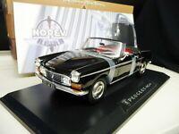 1:18 NOREV Peugeot 404 Cabriolet schwarz black NEU NEW