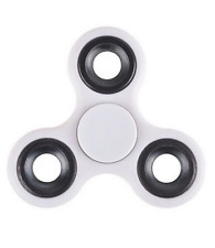Stress Relief Hand Spinner and Spinning Fidget-White