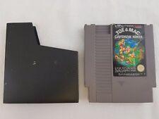 Joe & Mac Caveman Ninja NES Nintendo Game PAL A Cartridge Tested Working UKV