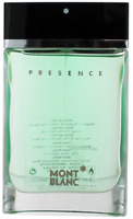Presence by Mont Blanc for Men EDT Cologne Spray 2.5 oz.-Tester NEW