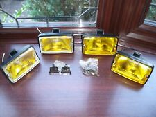 Peugeot 205 GTI driving lights lamps NEW yellow lense & yellow glass x2 pairs #6