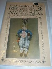 """ALL GATHERED UP BUNNY RABBIT KAROT PATCH PETE 20"""" DOLL PROJECT PATTERN SEWING"""