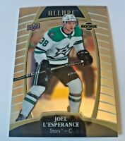 UPPER DECK 2019 - 2020 ALLURE- JOEL L'ESPERANCE - ROOKIE # 76 | 1 CARD