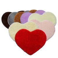 50x60cm Heart Shape Paillasson Bathroom Bedroom Carpet