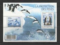 FRANCE 2009 Bloc PROTECTION DES POLES - PINGOUINS NEUF / MNH