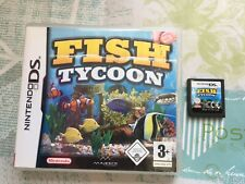 Fish Tycoon for Nintendo DS 2DS 3DS Game No Ins - Create Unique Fish!