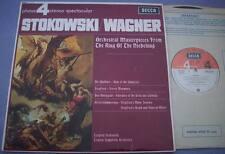 PFS 4116 STOKOWSKI WAGNER UK Decca GROOVED 1st 1L/2L AUDIOPHILE QUALITY