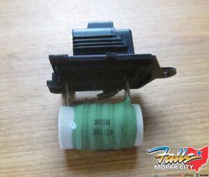 2008-2020 Chrysler Dodge Radiator Fan Resistor New Mopar OEM