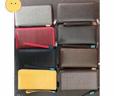 Mens Business Carbon & Aramid Fiber Wallet Credit Card Holder  Money Zip bag