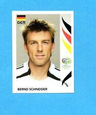 PANINI-GERMANY 2006-Figurina n.30- BERND SCHNEIDER - GERMANIA -NEW BLACK