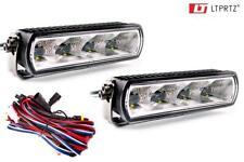 20W LED Scheinwerfer Fernlicht EB02 TÜV zugelassen Lightpartz® 2 St. + Kabelsatz