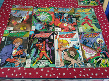 The Flash 2nd Series Lot of 8 Comic DC Reading Copies #20,21,22,23,25,27,28,29